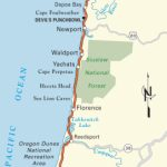 Pacific Coast Route: Oregon | Road Trip Usa   Oregon California Coast Map