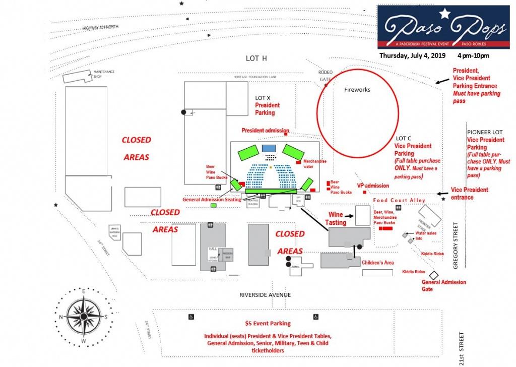 Paderewski Festival - Paso Pops - Map Of California Mid State Fair