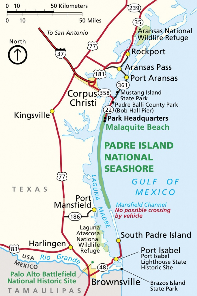 Padre Island Maps | Npmaps - Just Free Maps, Period. - Padre Island Texas Map