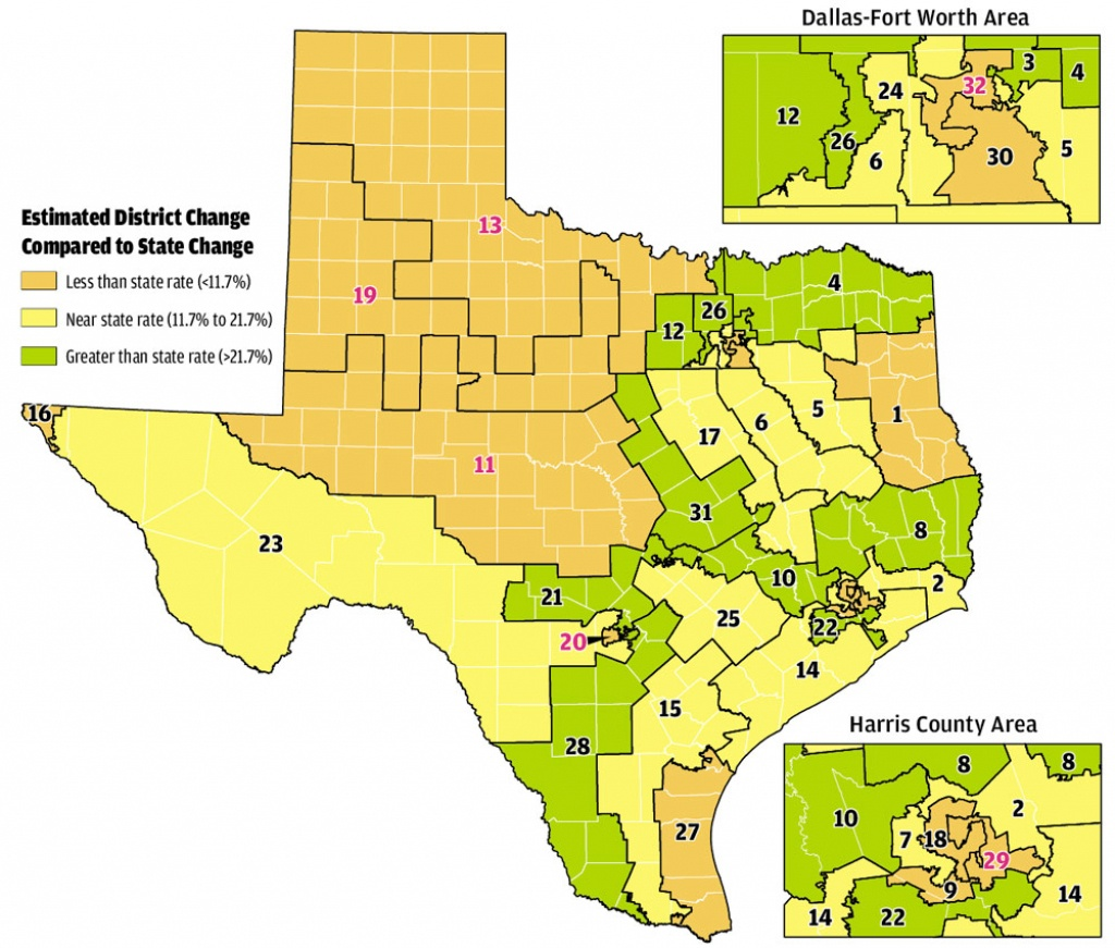 Paintingnumbers: It's Redistricting Time Again! Wherein We - Texas State District Map