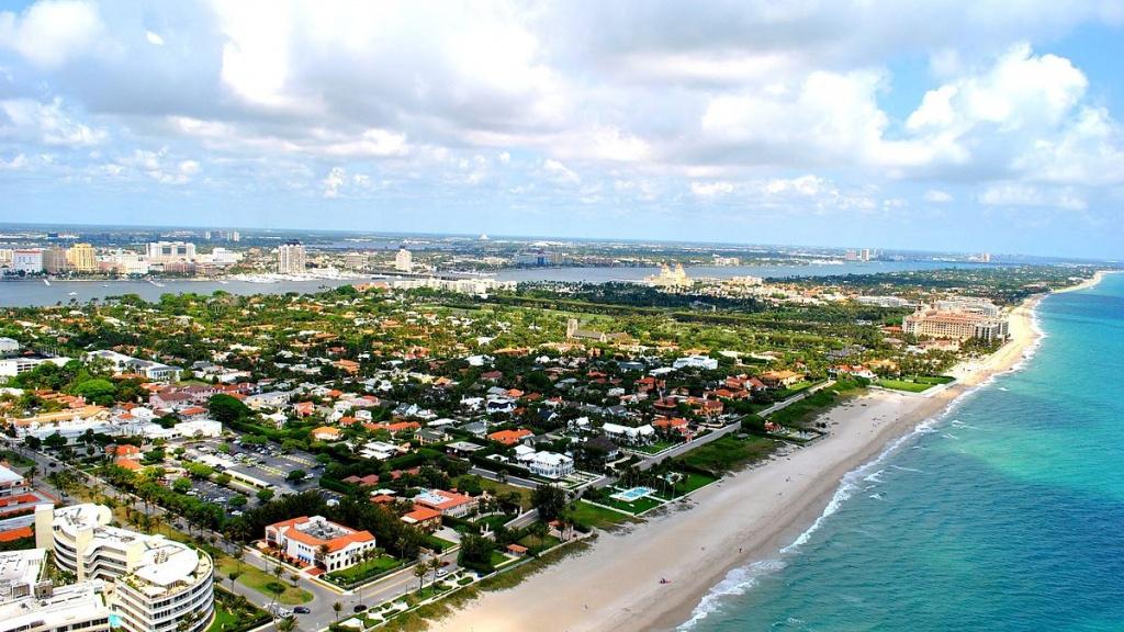 Palm Beach, Florida - Wikipedia - Map Of Palm Beach County Florida