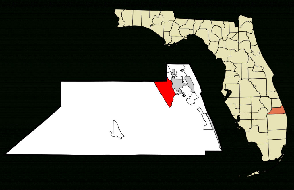 Palm City, Florida - Wikipedia - Palm City Florida Map