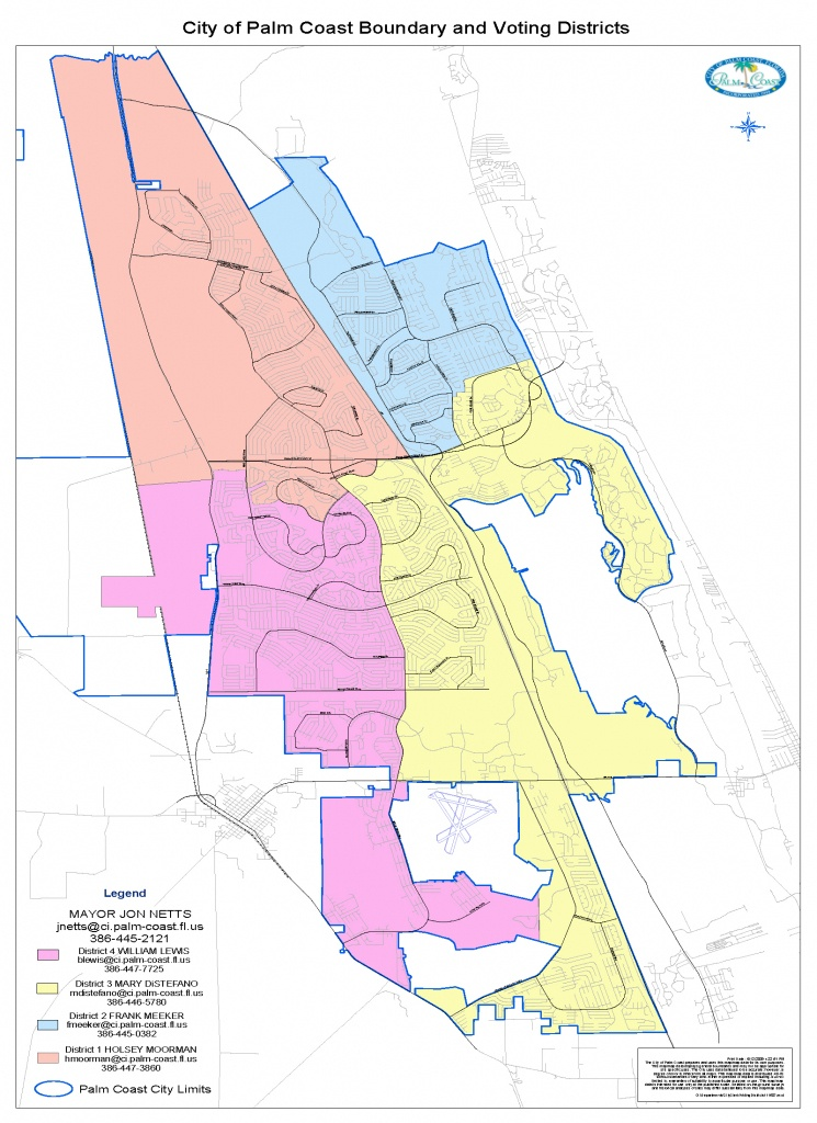 Palm Coast Redistricting Plan Disqualifies Dennis Cross From City - Where Is Palm Coast Florida On The Map