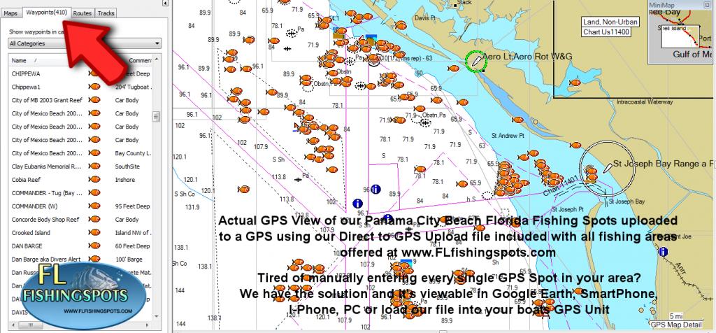Panama City Florida Fishing Map | Fishing | Panama City Panama - Top Spot Fishing Maps Florida