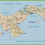 Panama Political Map   Printable Map Of Panama