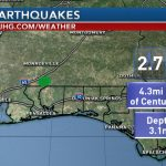 Panhandle Earthquake   Florida Earthquake Map