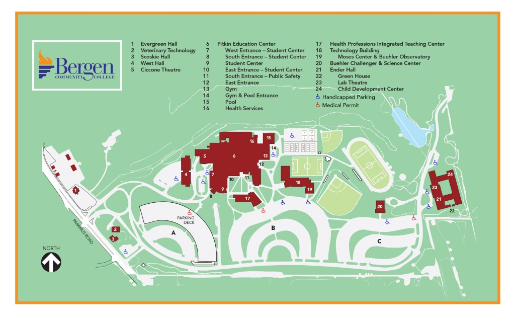 Paramus | Bergen Community College - Community Map For Kids Printable