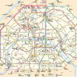 Paris Attractions Map Pdf   Free Printable Tourist Map Paris, Waking   Map Of Paris Metro Printable
