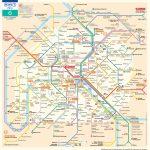 Paris Metro Map – The Paris Pass   Map Of Paris Metro Printable