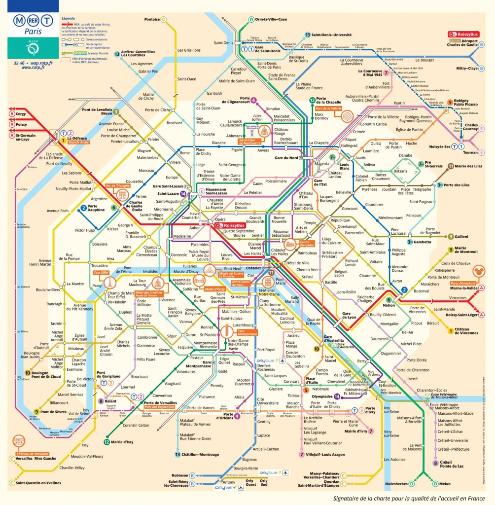 Paris Metro Map – The Paris Pass - Map Of Paris Metro Printable