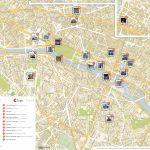 Paris Printable Tourist Map | Sygic Travel   Printable Map Of Paris City Centre