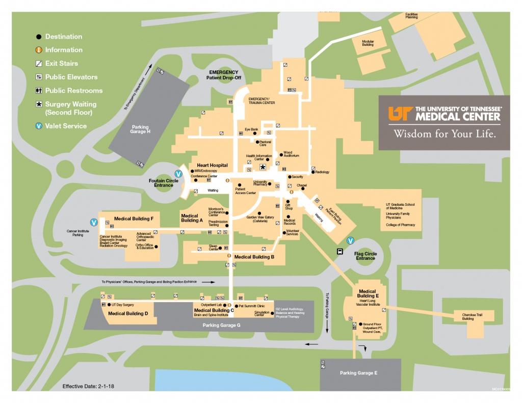 Parking & Directions - Utmc - Florida Hospital South Map