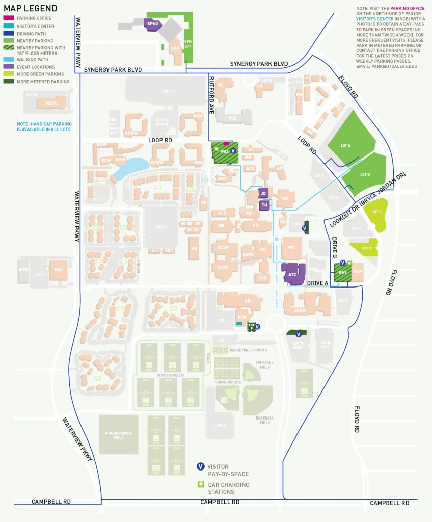 Parking, Maps And Directions To Venues - Events - School Of Arts And - Printable Map Directions