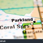 Parkland Florida Usa On Map Stock Photo (Edit Now) 1120517144   Parkland Florida Map