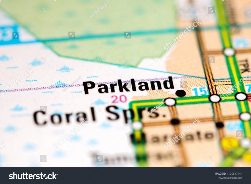 Parkland Florida Usa On Map Stock Photo (Edit Now) 1120517144 - Parkland Florida Map
