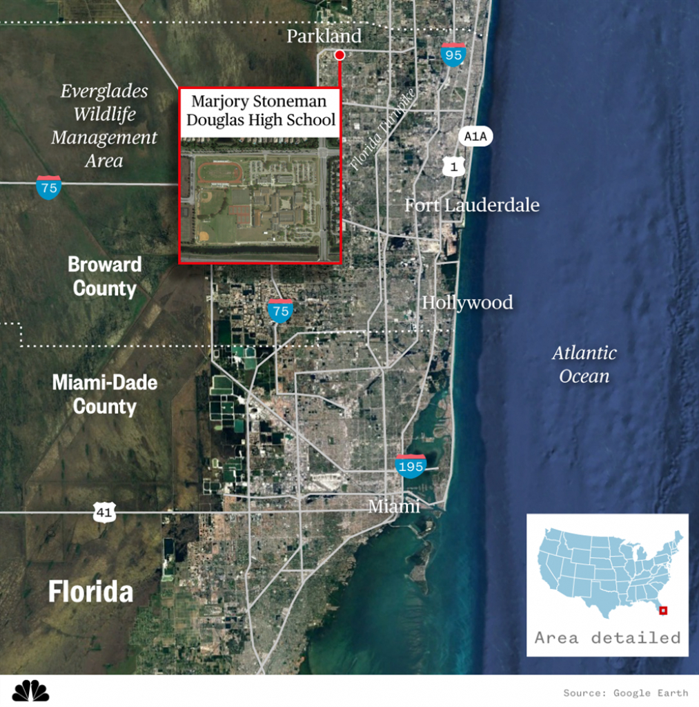 Parkland High School Florida Map | Time Zones Map - Parkland Florida Map