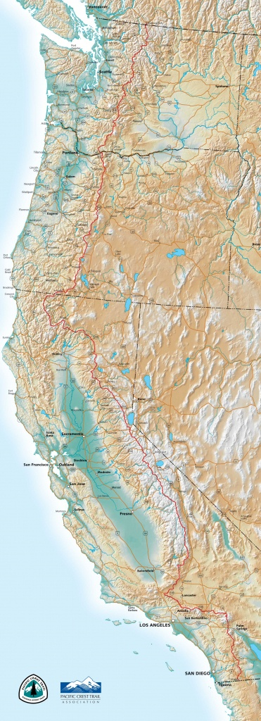 Pct Maps - Southern California Trail Maps