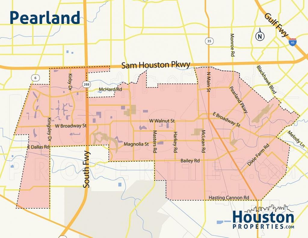 Pearland Houston Tx Neighborhood Map   Great Maps Of Houston   Golf - Stafford Texas Map
