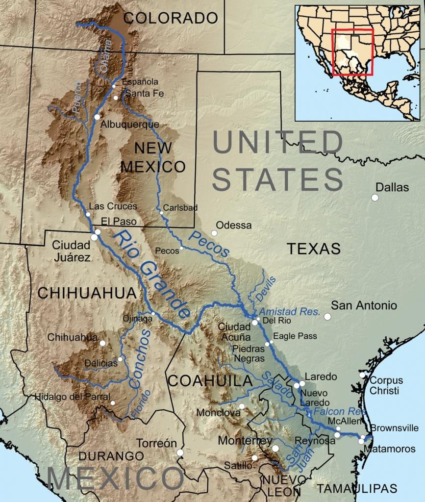 Pecos River   The Handbook Of Texas Online  Texas State Historical - Pecos Texas Map