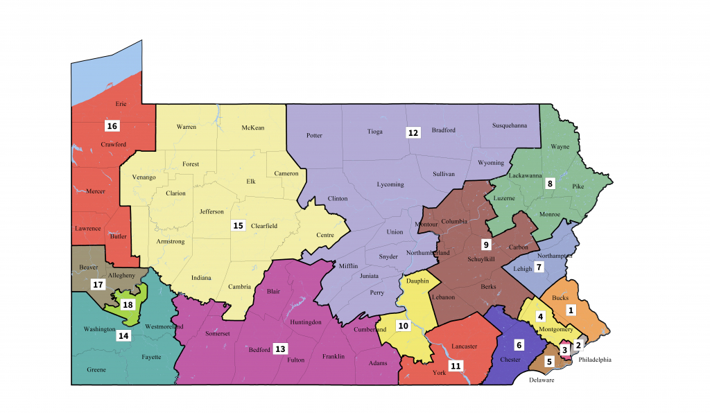 Pennsylvania's Congressional Districts - Wikipedia - Texas State Senate District 19 Map