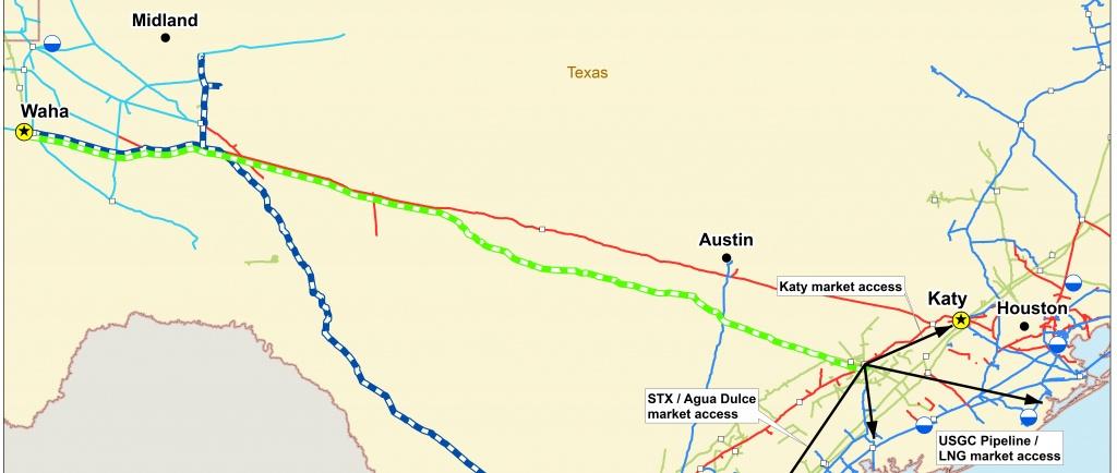 Permian Highway Pipeline   Braun & Gresham, Pllc. - Kinder Morgan Pipeline Map Texas