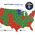 Permit To Carry Maps | Mn Firearms Training   Texas Reciprocity Map
