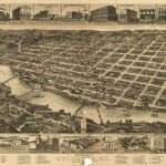 Perspective Map Of Columbus, Ga., County Seat [Of Muscogee Cou]Nty   Printable Map Of Columbus Ga