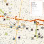 Philadelphia Printable Tourist Map In 2019 | Free Tourist Maps   Printable Map Of Philadelphia Attractions