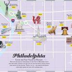 Philadelphia Tourist Attractions Map   Printable Map Of Philadelphia Attractions