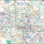 Phoenix Maps | Arizona, U.s. | Maps Of Phoenix   Printable Map Of Phoenix
