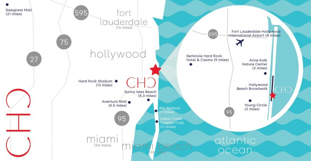 Photos Costa Hollywood Beach Florida - Hollywood Beach Florida Map
