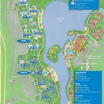 Photos   New Guide Map For Disney's Caribbean Beach Resort   Florida Resorts Map