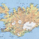 Physical Map Of Iceland. Iceand Physical Map | Vidiani | Maps Of – Maps Of Iceland Printable Maps