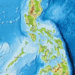 Physical Map Of Philippines   Free Printable Satellite Maps