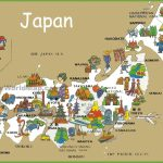 Pictorial Travel Map Of Japan   Free Printable Map Of Japan