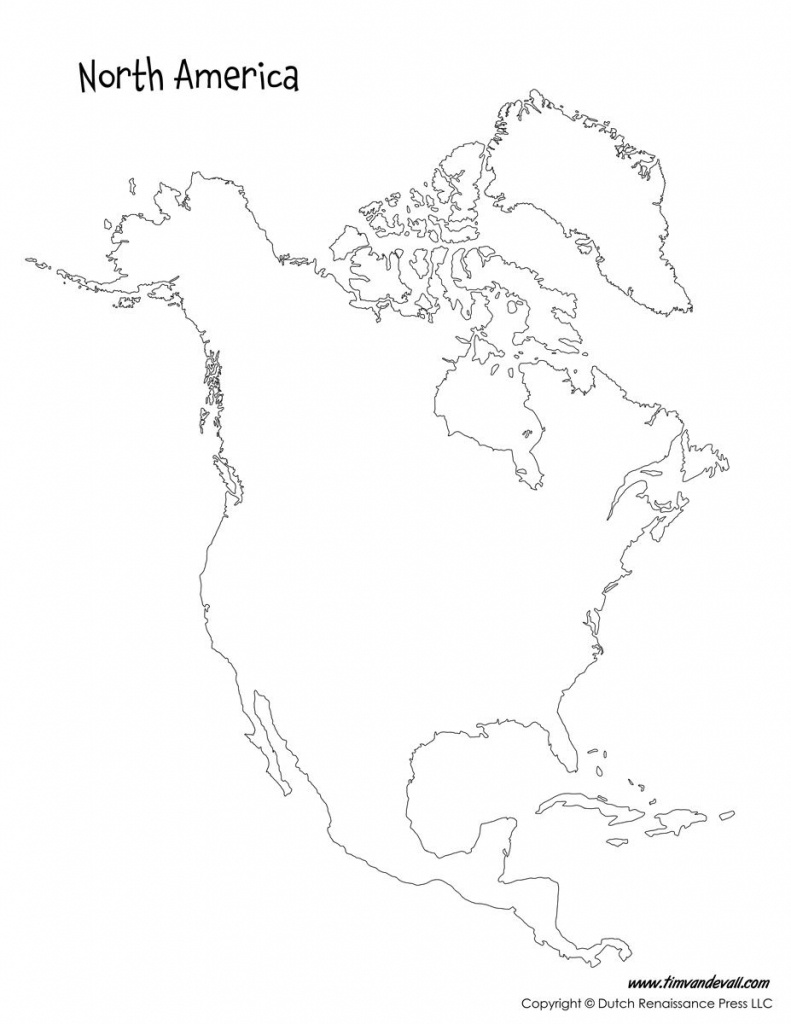 Pinadam Kennington On Geography Maps & Interesting Facts - Printable Map Of North America With Labels