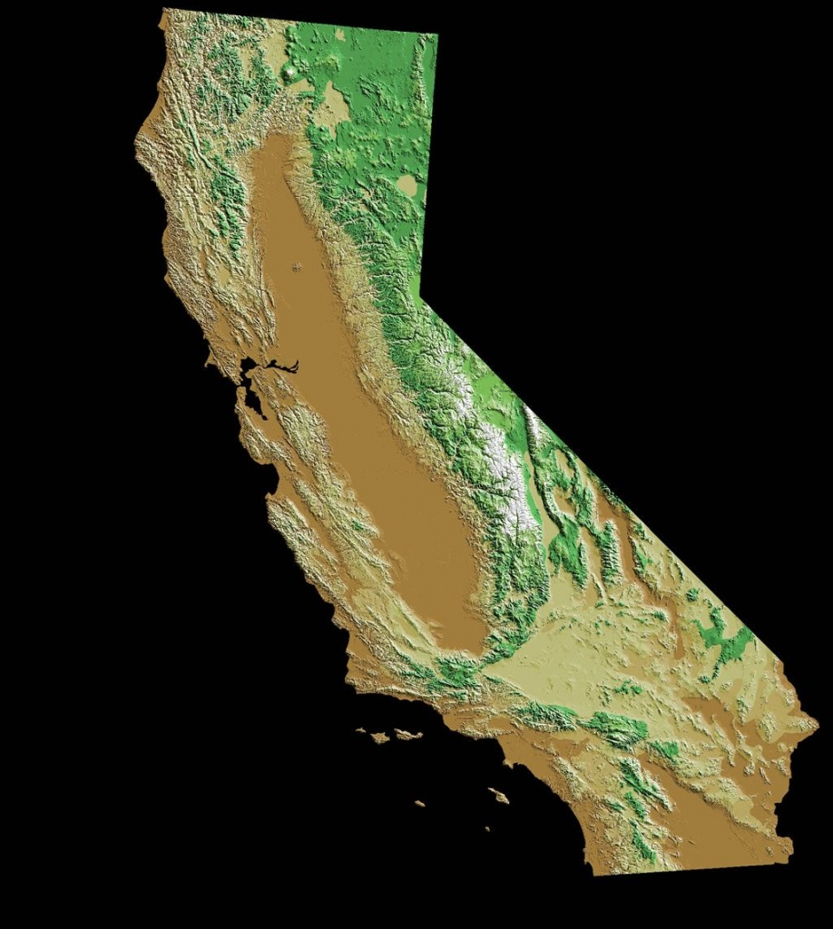 Pincarrie Fanucchi On Maps Of California   California Map, Map - Baja California Topographic Maps