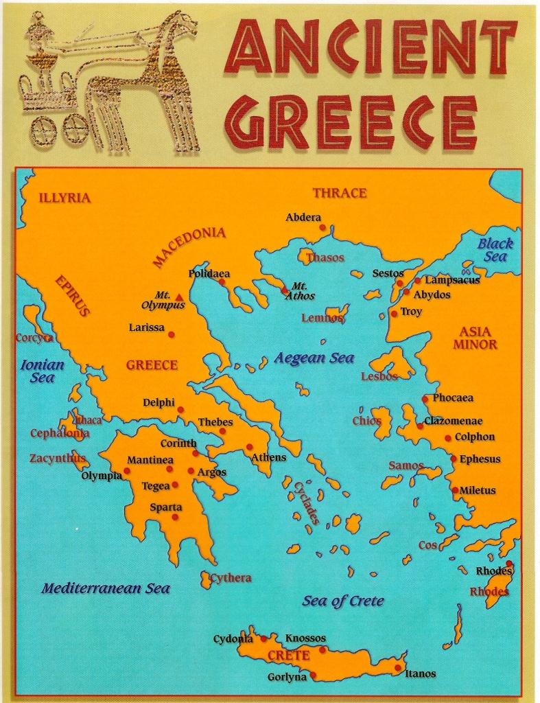 Pind'anna Entrekin On Greek | Ancient Greece, Ancient Greek City - Map Of Ancient Greece Printable