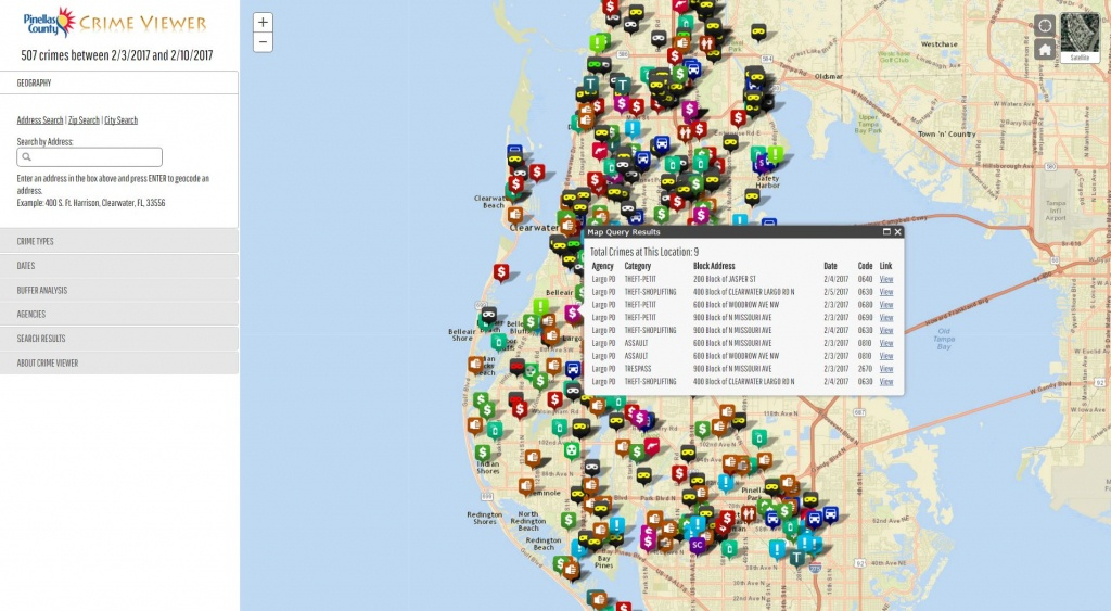 Pinellas County Enterprise Gis - Florida Parcel Maps