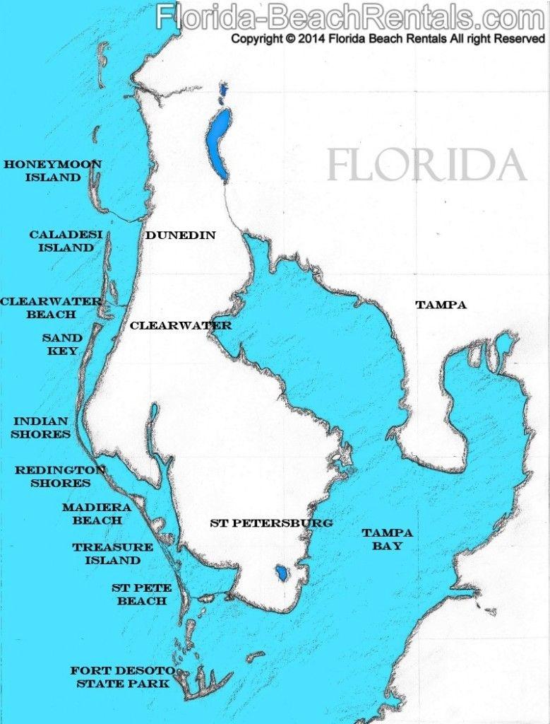 Pinellas County Florida Map, #florida #map #pinellascounty   Talk Of - Map Of Pinellas County Florida