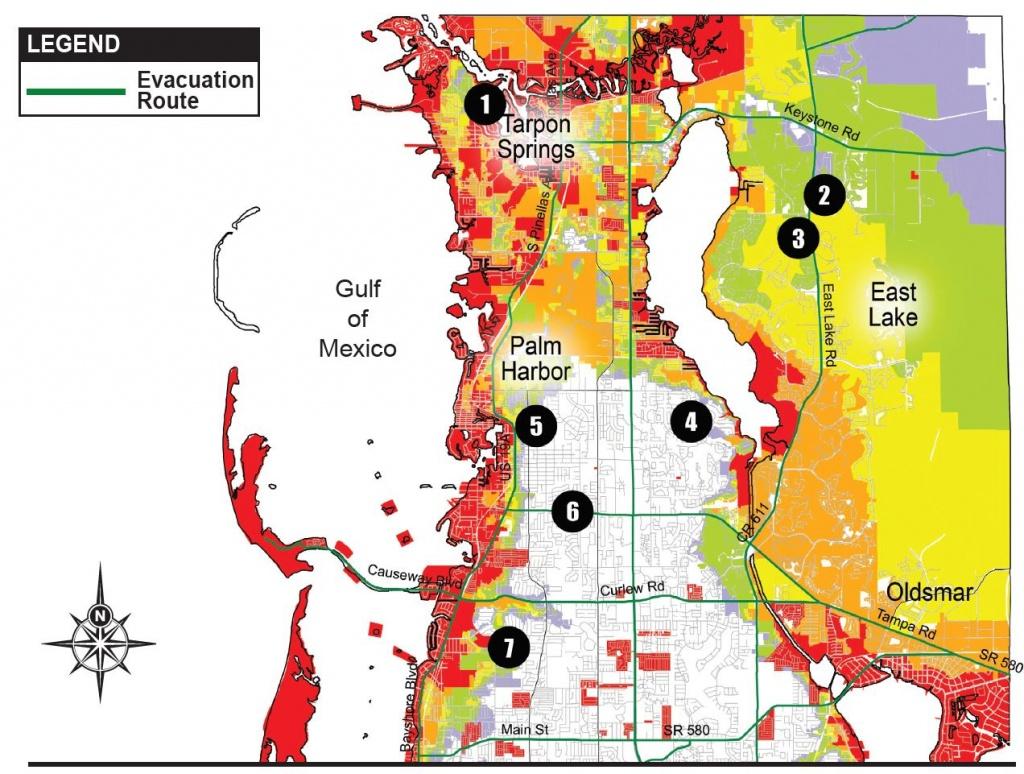 Pinellas Issues Hurricane Irma Evacuation Orders - Story | Fox 13 - Florida Evacuation Route Map