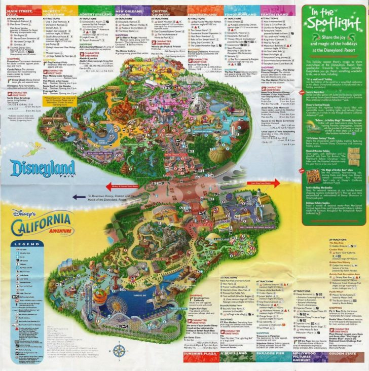 picture regarding Printable California Map titled disneyland california map 2018 Printable Maps