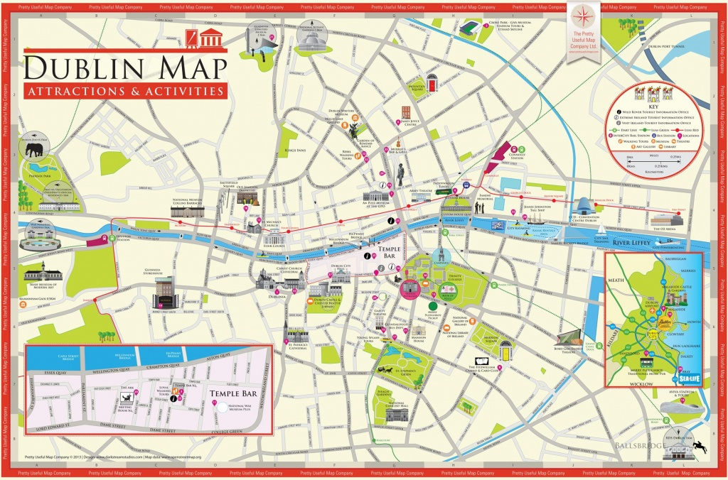 Pinjohn Brigham On Ireland 2017 | Dublin Attractions, Dublin Map - Dublin Tourist Map Printable