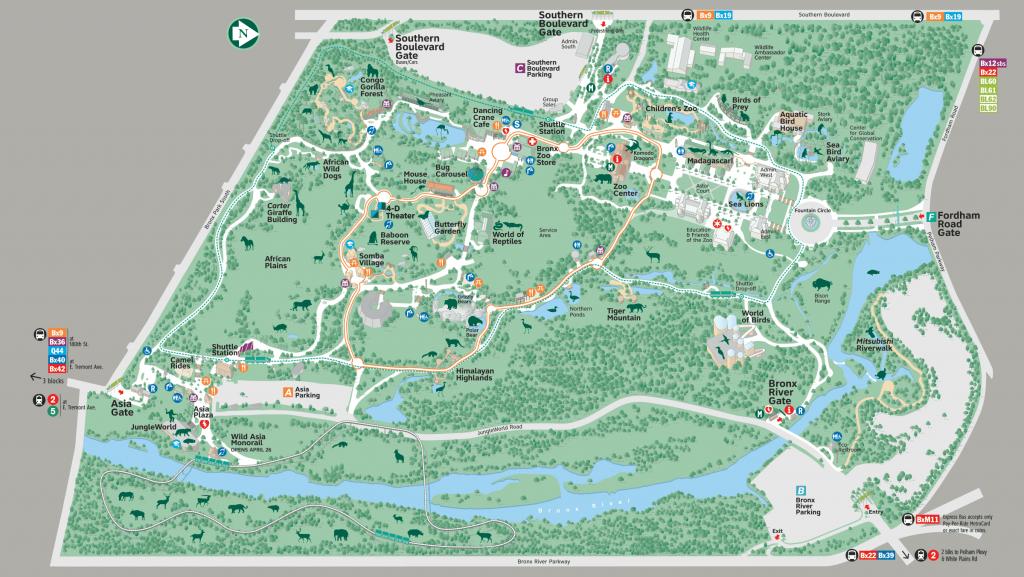 Pinlaura Malischke On Nyc!! | Bronx Zoo, Zoo Map, Nyc - Bronx Zoo Map Printable
