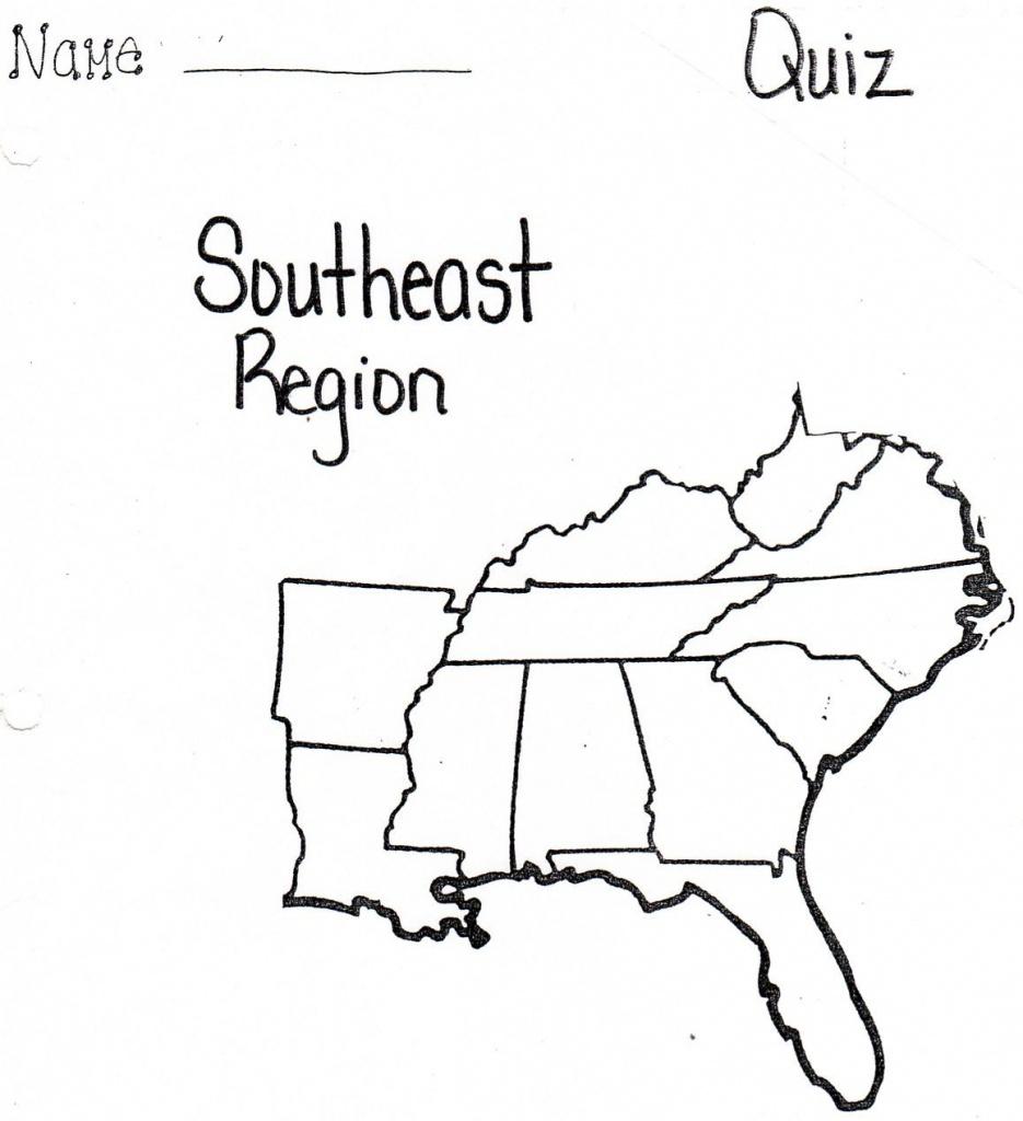 Pinnadine Castro On School | Us Map Printable, Map, Us Map - Southeast States Map Printable