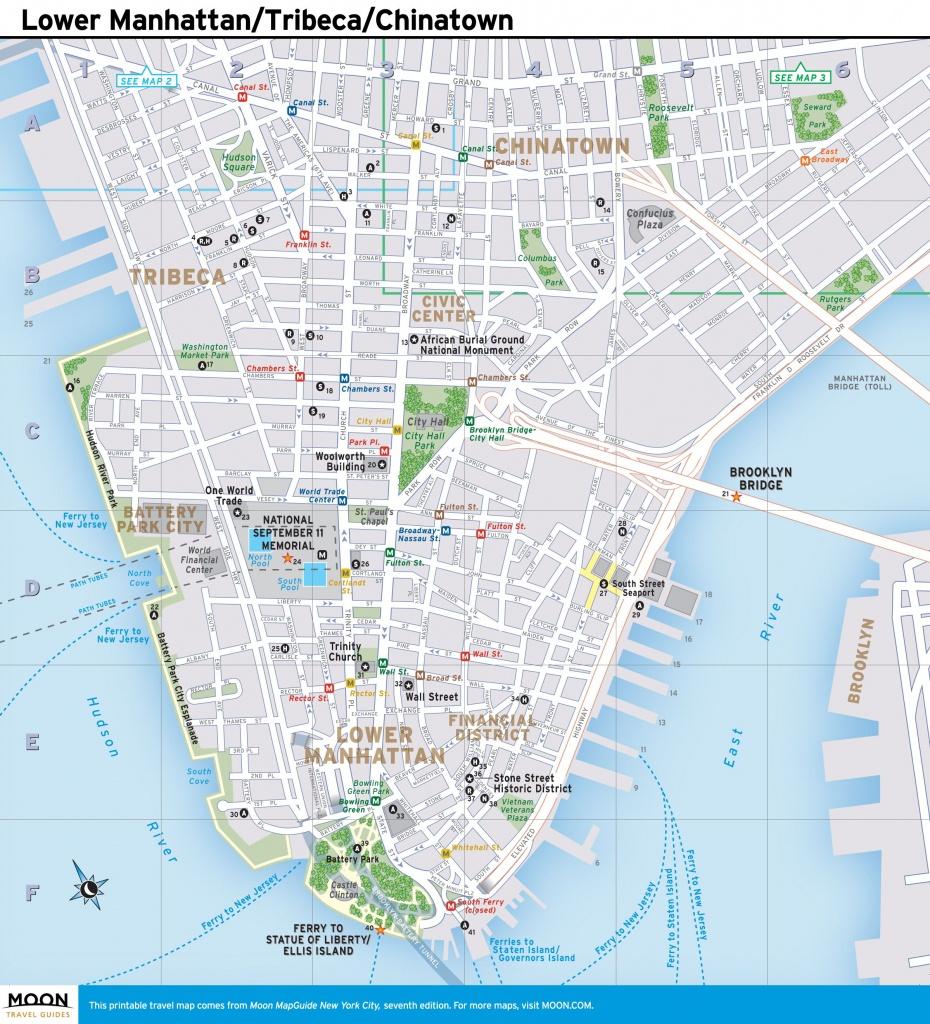 Pinperry Christensen On Local Maps | Lower Manhattan, New York - Printable Local Maps