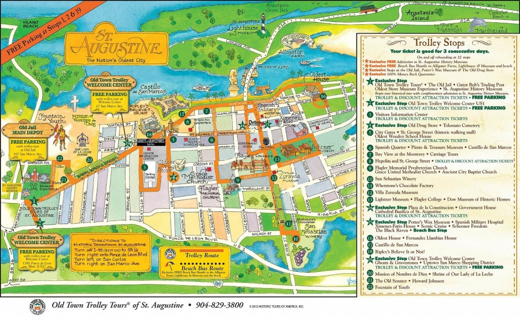 Pinsl On St Augustine | Local Map, Florida, State Of Florida - St Augustine Florida Map