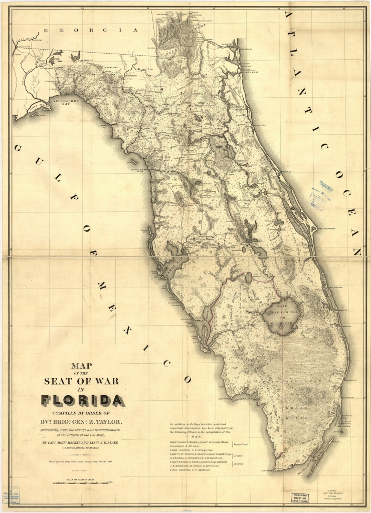 Pinsniffersmith On Maps | Seminole Florida, Old Maps, Map - Framed Map Of Florida