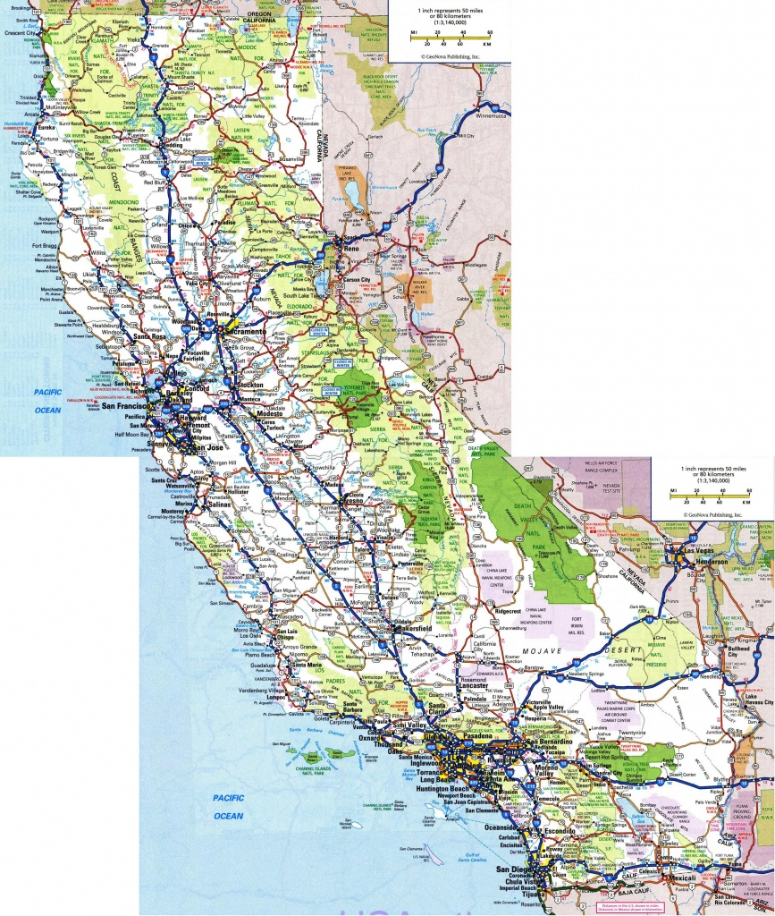 Pinyomar Augusto On Map In 2019 | Highway Map, California Map, Map - National And State Parks In California Map