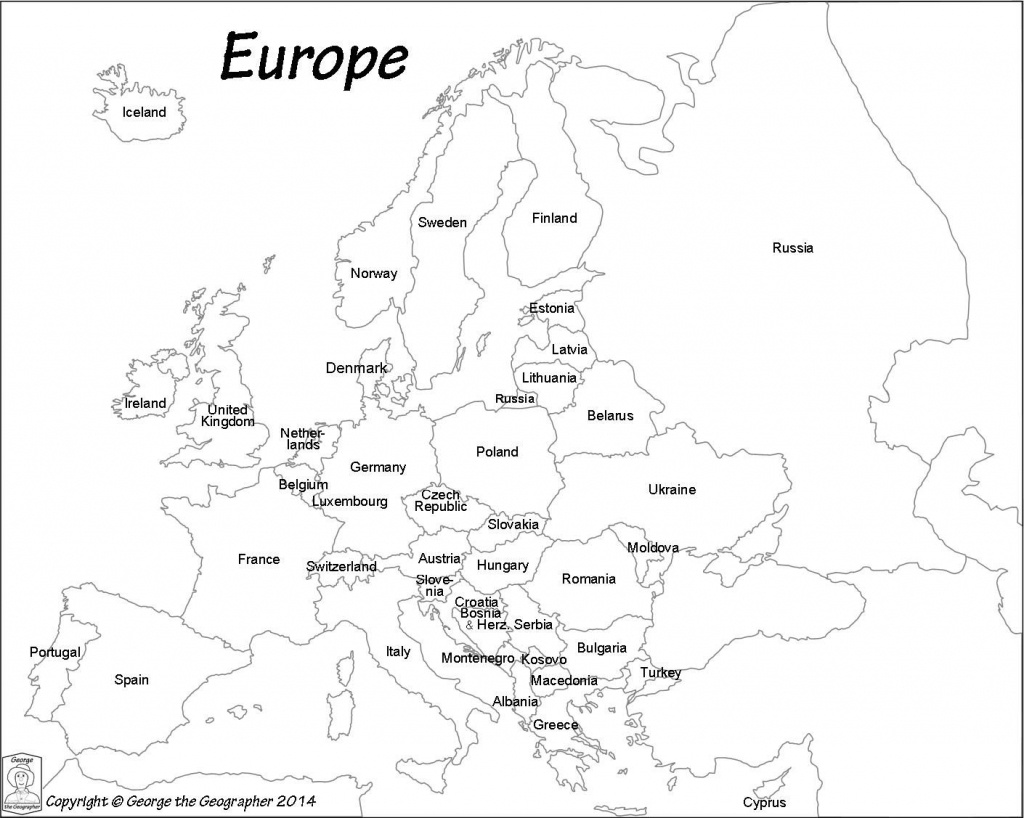 Pinzsa Zsa On Coloring Book | Europe Map Travel, Europe Map - Europe Political Map Outline Printable